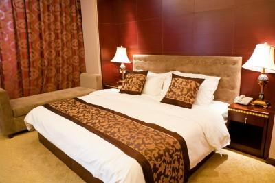 חדר שינה צבעוני ויפה
