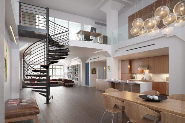 מדרגות עץ וברזל – שילוב עיצובי ממכר